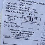 DMV事情2。